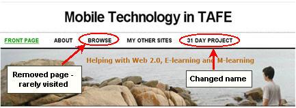 Image of former blog header