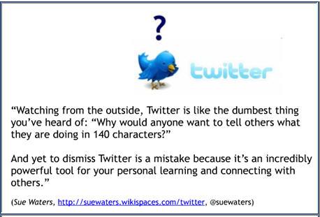Image of Twitter handbook for teachers
