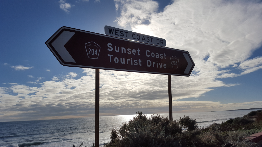 Sunset Coast Tourist Drive