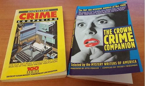 My Reading List of Top 100+ Crime and Mystery Novels of All Time