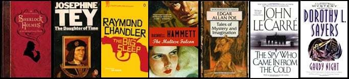 My Reading List of Top 100+ Crime and Mystery Novels of All